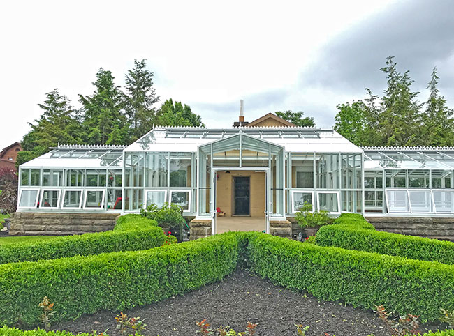This Entrance Way Greenhouse Above Is Located At The Buhl Mansion  Guesthouse U0026 Spa In Sharon, PA. This Greenhouse Was A Complete Redesign Of  An Existing ...
